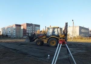 На Аэродроме завершается первый этап строительства нового футбольного стадиона