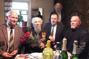 Сегодня житель Гатчины Ян Антонович Дрозд отмечает свой 100-й День Рождения